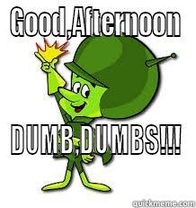 Good afternoon dumb dumbs Good Afternoon Memes