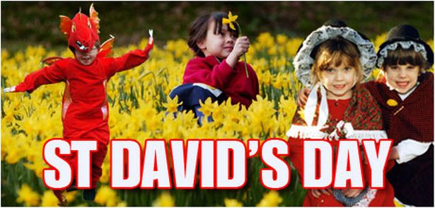 Happy St David's Day Children