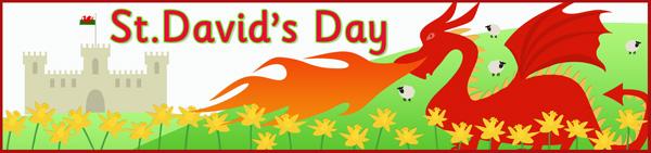 Happy St David's Day Friends Best Wishes