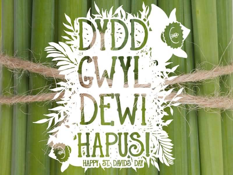 Happy St David's Day Wishes And Greetings Image