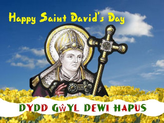 Happy St David's Day Wishes To All Friends
