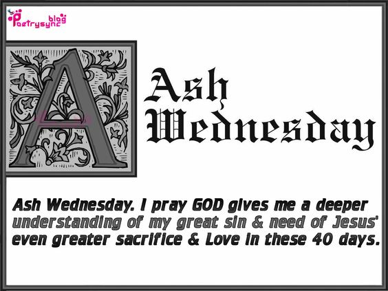 Have A Great Ash Wednesday
