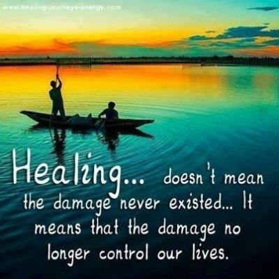 Healing Quotes healing doesn't mean the damage