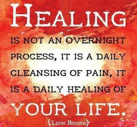 Healing Quotes healing is not an overnight