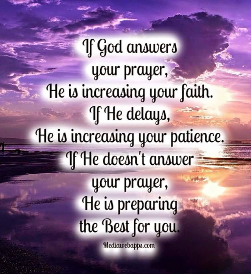 Healing Quotes if god answers your prayer
