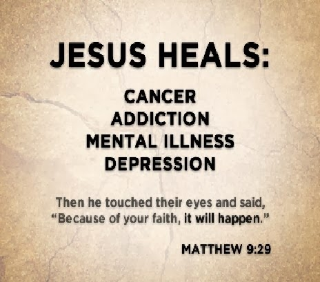 Healing Quotes Jesus heals cancer addiction