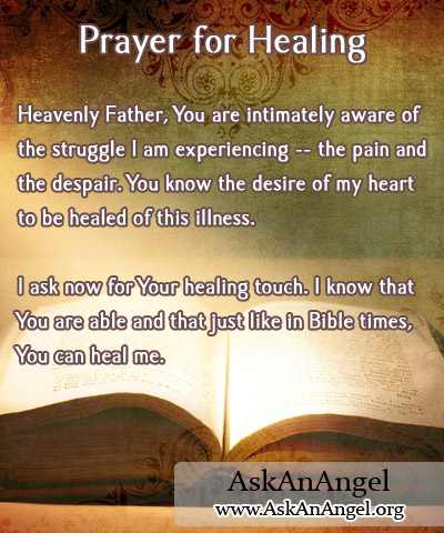 Healing Quotes prayer for healing heavenly father