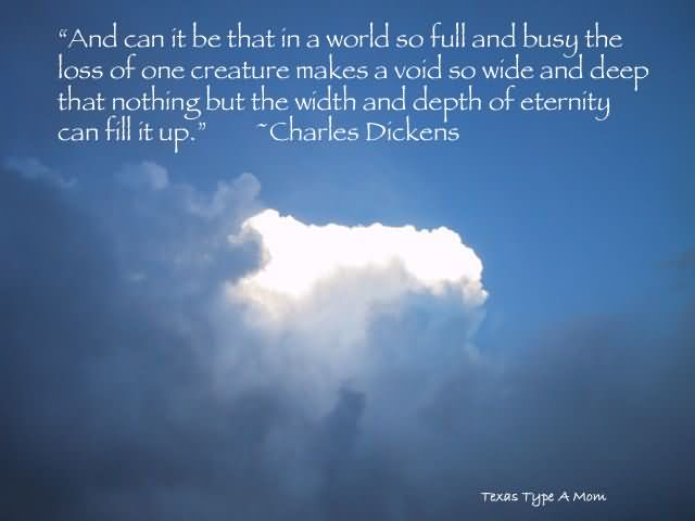 Healing Sayings and can it be that in a world