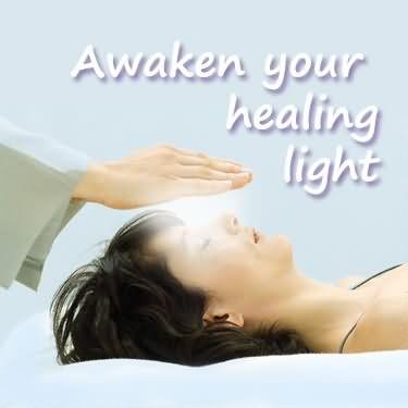 Healing Sayings awaken your healing light