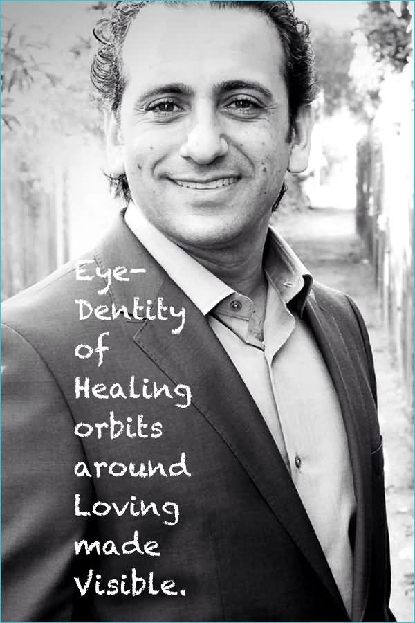 Healing Sayings eye density of healing around loving