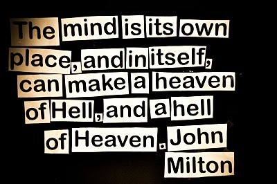 Hell Quotes the mind is its own place, and in itself