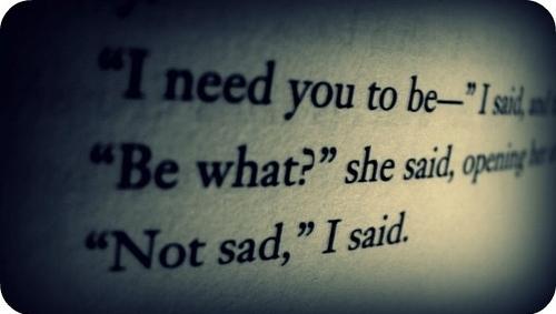 Hell Sayings i need you to be i said and be