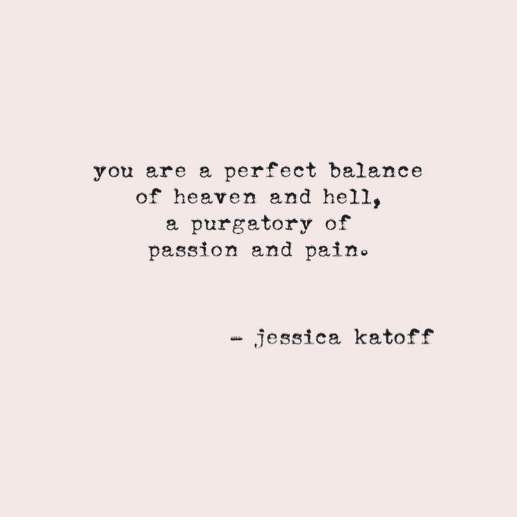 Hell Sayings you are a perfect balance