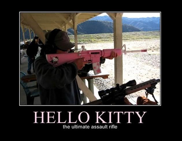 Hello kitty Army Memes