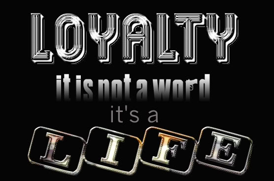 Hood Quotes loyalty it is not a word it's a life