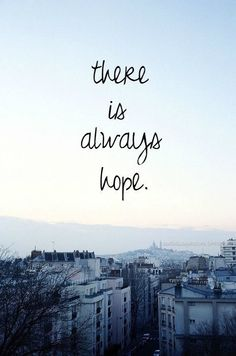 Hope Quotes there is always hope