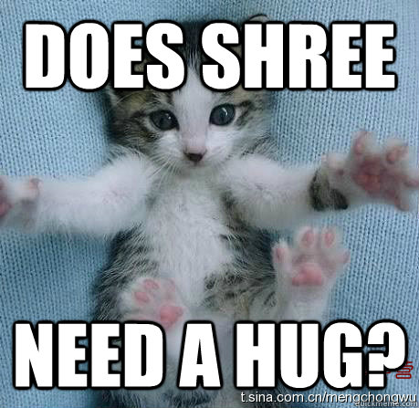 Hug Memes does shree need a hug