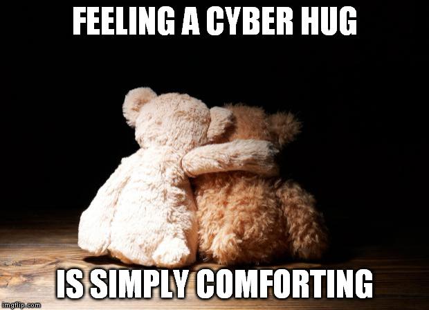 Hug Memes feeling a cyber hug is simply conforting