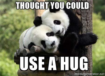 Hug Memes thought you could use a hug