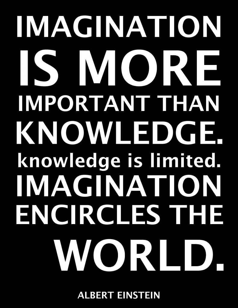Imagination Quotes imagination is more important than knowledge is limited