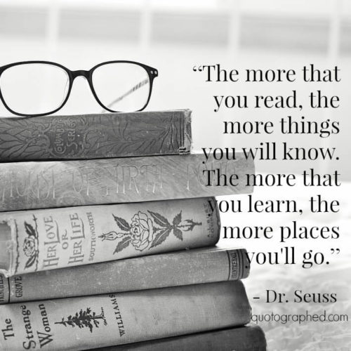Imagination Quotes the more that you read the more things you will know the more that you learn