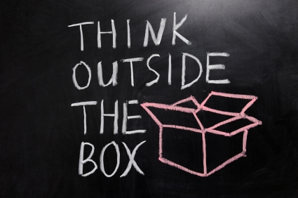 Imagination Quotes think outside the box