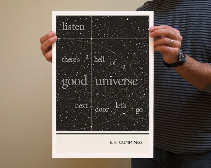 Literary Quotes listen there's a hell of a good universe next door lets go