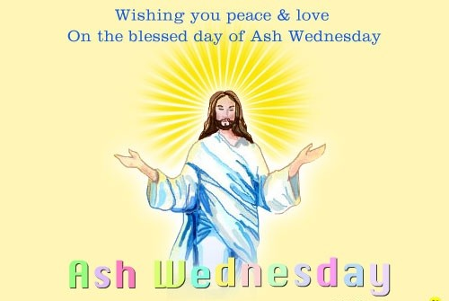 Love And Peace Ash Wednesday