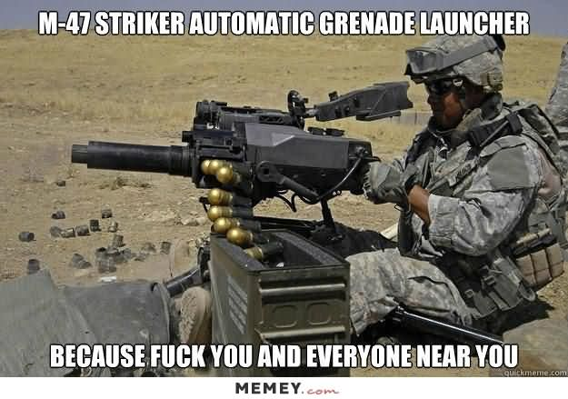 M 47 striker automatic grenade launcher