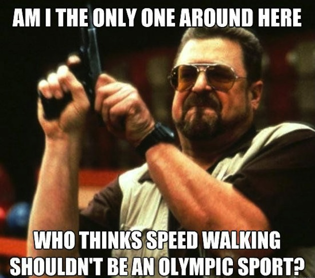 Olympics Meme am i the only one around here