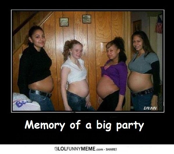 Party Meme memory of a big party