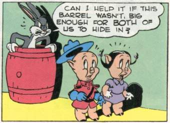 Porky Pig Quotes can i help it if this barrel wasn't big