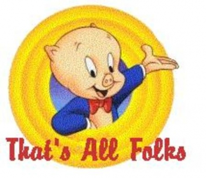 Porky Pig Quotes that's all folks