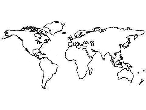 Sensation World Map Tattoo For Tattoo fans