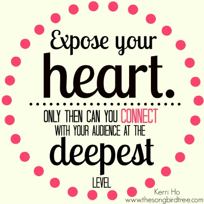 Singer Quotes expose your heart only