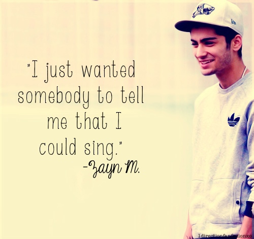 Singer Quotes i just wanted somebody to tell