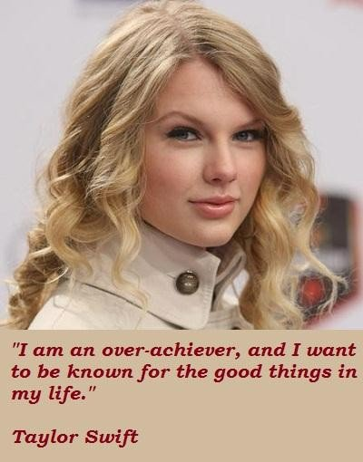 Singer Quotes I'm an over achiever and i want to be known for the