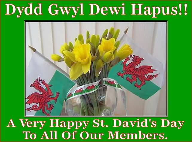 St David's Day Best Greetings Message Image