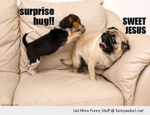 Surprise hug sweet jesus Hug Memes