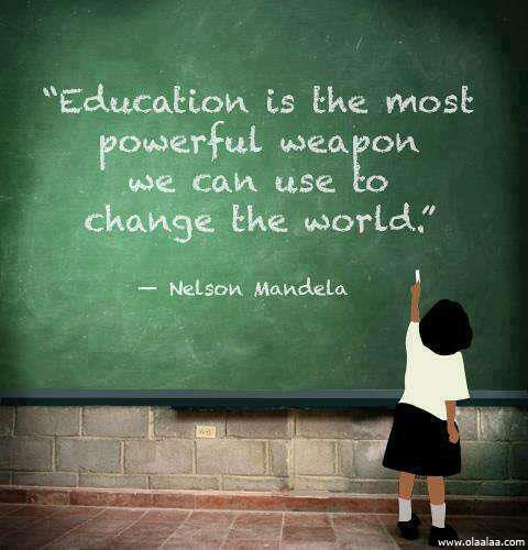 Teach Quotes education is the most powerful weapon we can use to change the world