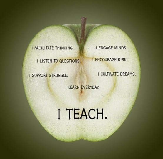 Teach Quotes i facilitate thinking i listen to questions