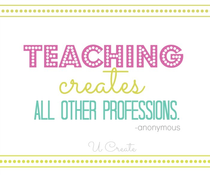 Teach Quotes teaching creates all other professions