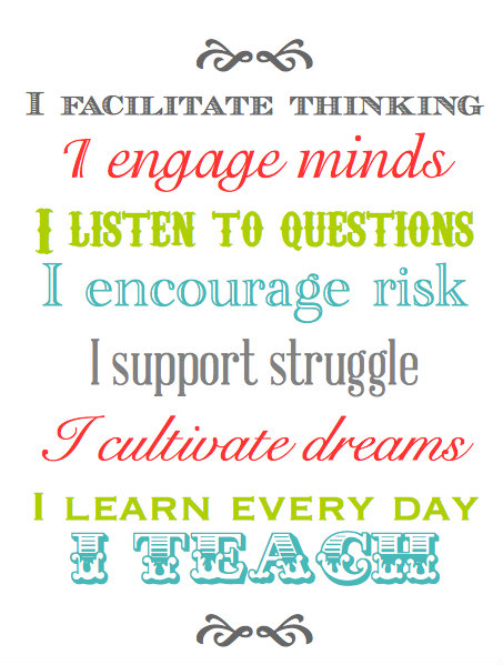 Teach Sayings i engage minds i listen to questions