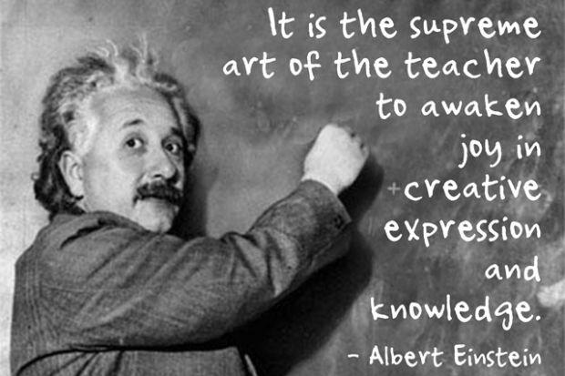 Teacher Quotes it is the supreme art of the teacher to awaken