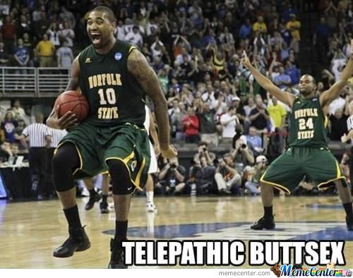 Telepathic Buttsex Internet Meme