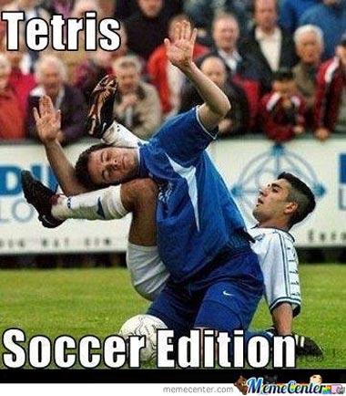 Tetris soccer edition Football Memes