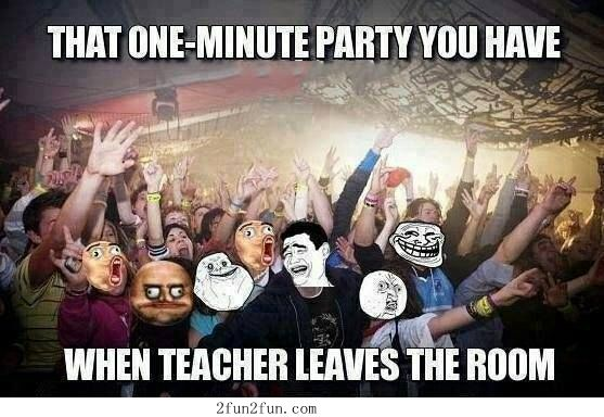 That one minute party Funny Party Meme