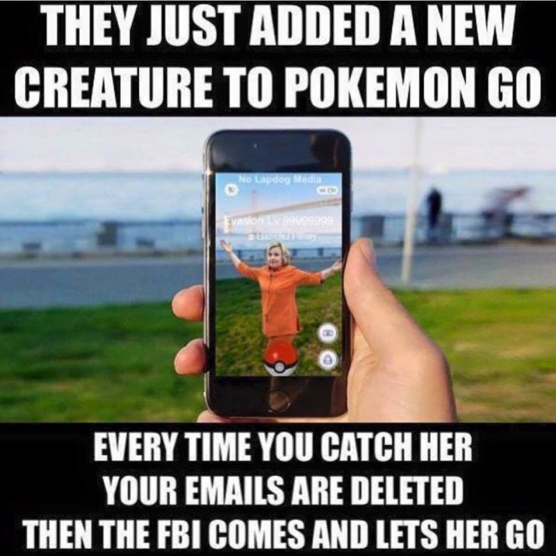 They Just Added A New Creature To Pokemon Go Memes