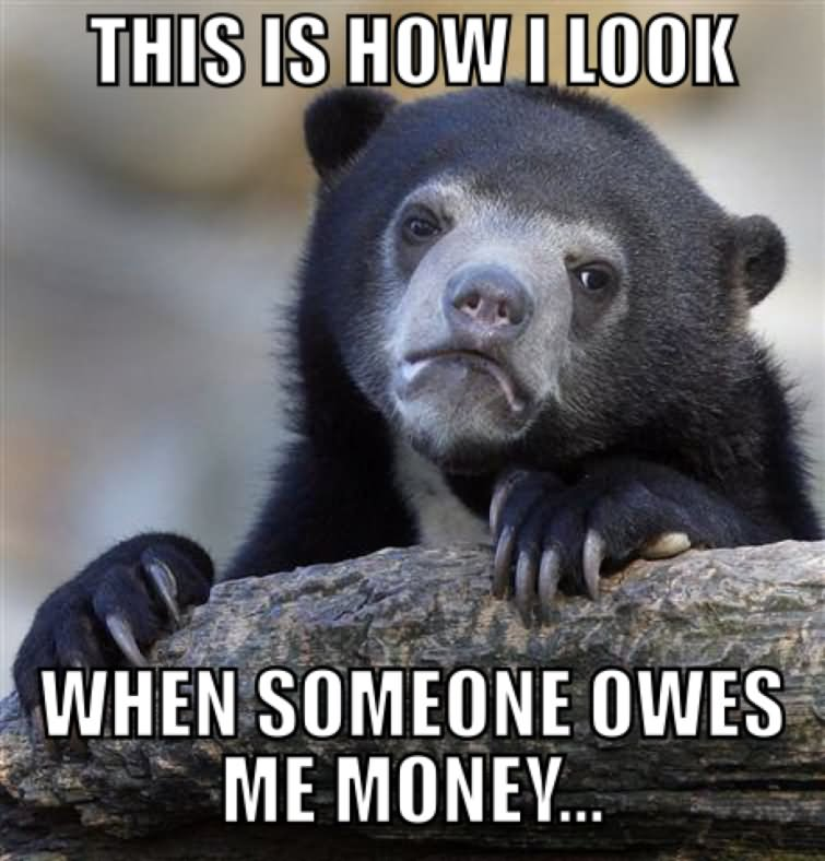This is how i look when someone owes me money Money Meme (8)