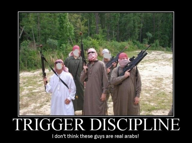 Trigger discipline Funny Army Image